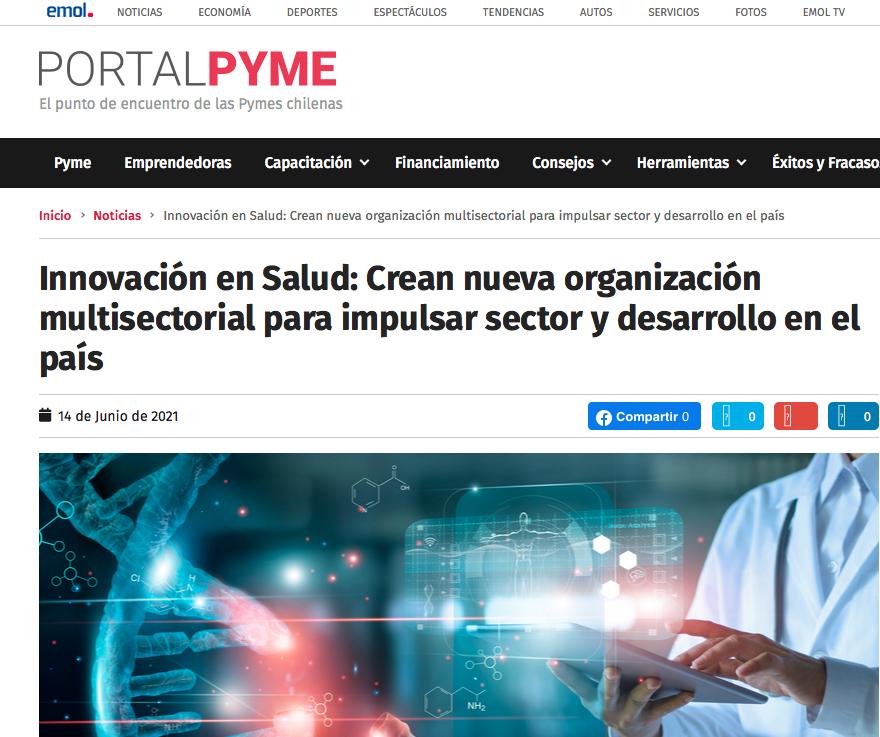 PortalPyme destaca formación de Pro Salud Chile