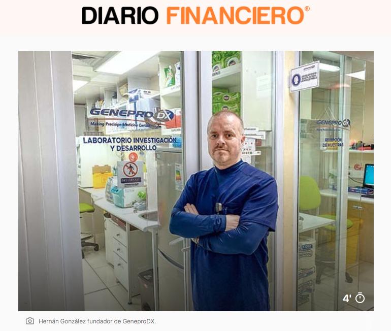 Diario Financiero destaca a GeneproDX por proyecto de masificación de su test de cáncer de tiroides