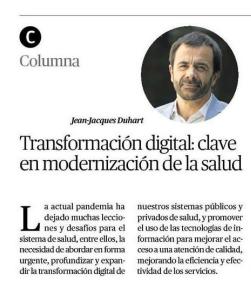 La Transformación Digital: factor clave en la modernización de la salud en Chile