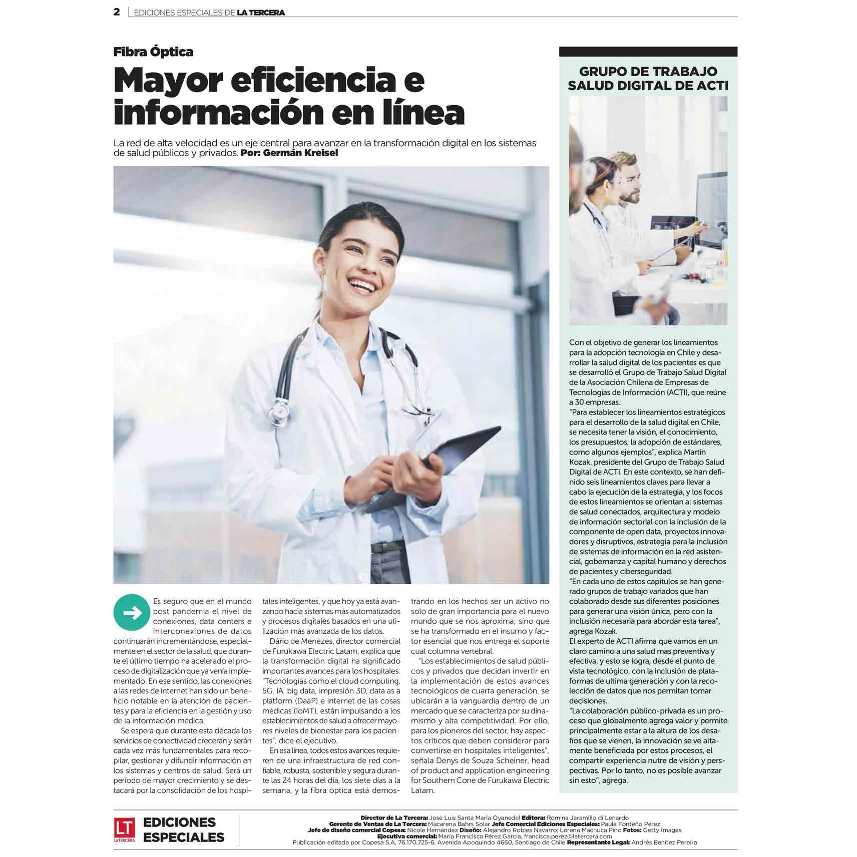 Salud Digital: una fórmula para mejorar el sistema de Salud